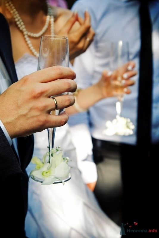 бокалы с нашими инициалами - фото 59741 Юлия - свадебный распорядитель