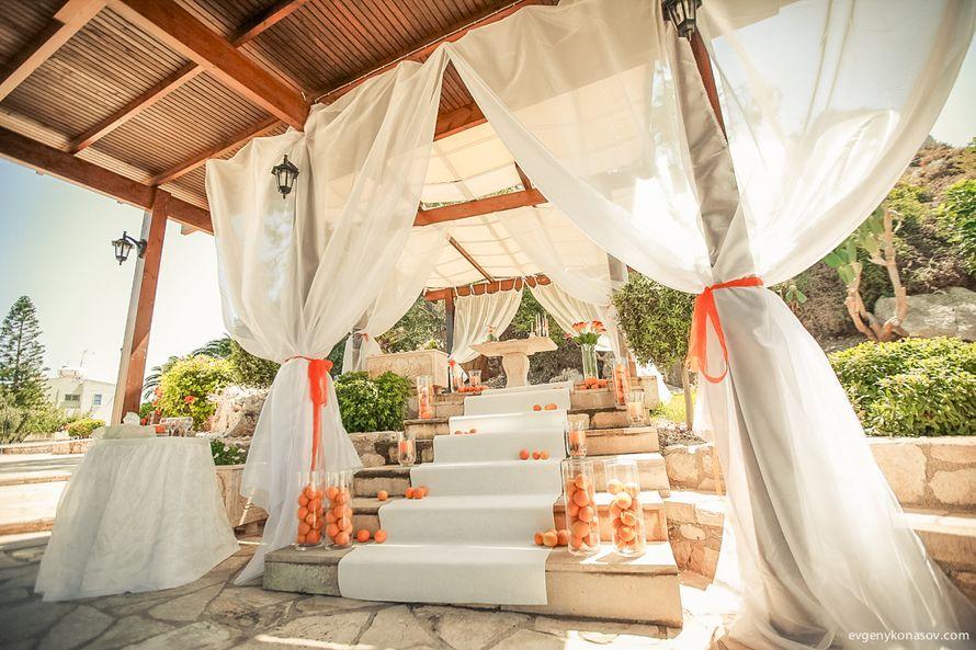"Беседка ""Элиас Гарден"" (Протарас) - фото 2818899 Sunny Cyprus Wedding"
