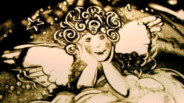 Фото 869361 в коллекции Песочная анимация - Художник песочной анимации Резеда