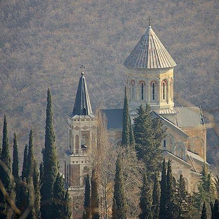Венчание в храме в Грузии