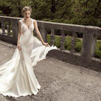 Роскошное свадебное платье 2015 года.