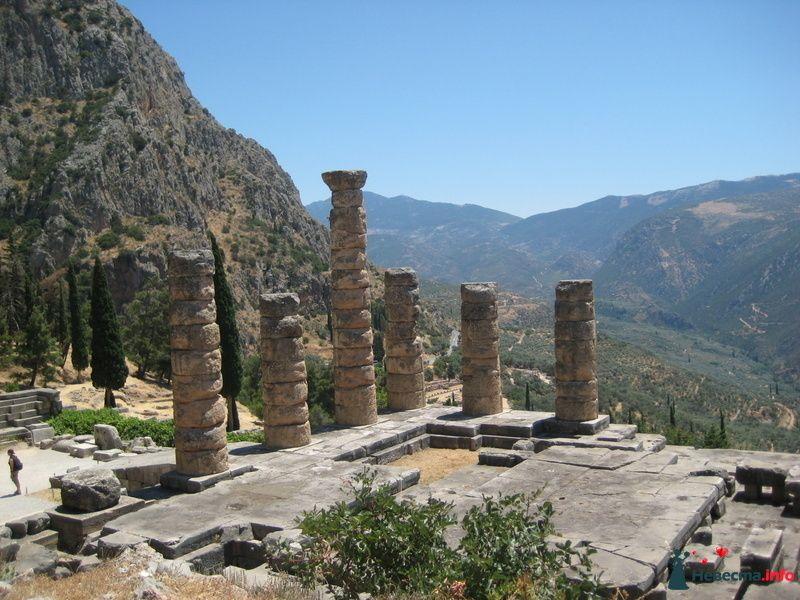 Греция Дельфы Храм
