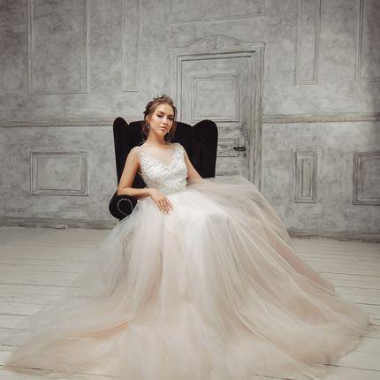 Образ невесты в студии