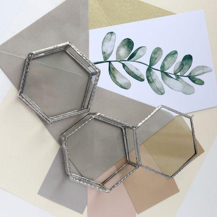 Шкатулочка шестигранная