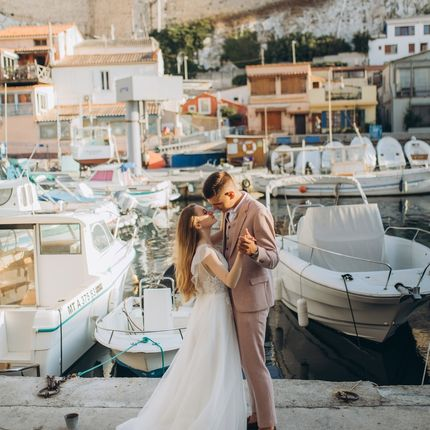 Фотосъёмка за границей - пакет Wedding in Marseille