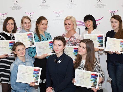 Отзывы учеников о курсе макияжа Ульяны Старобинской и вручение сертификатов (27.11.16)