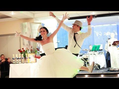 Классный свадебный танец: линди хоп! Смотреть всем!