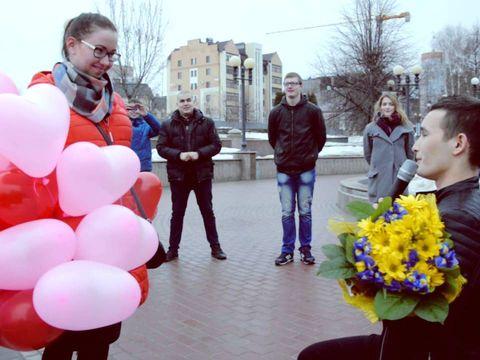 Предложение руки и сердца Казань