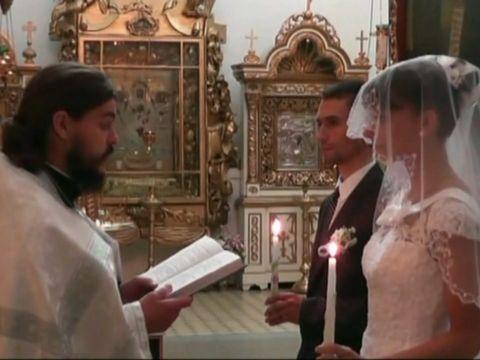 Красивое Венчание Александра и Елены 51
