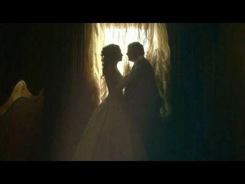 Красивая зимняя свадьба Дениса и Светланы 70