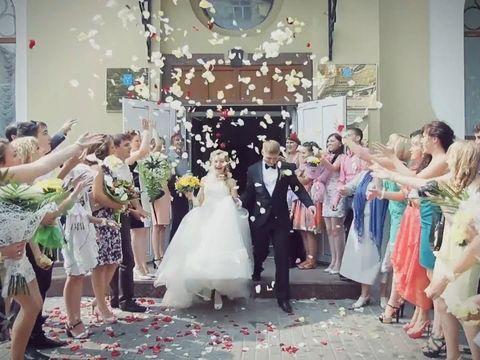 Красивая свадьба Александра и Маши 79