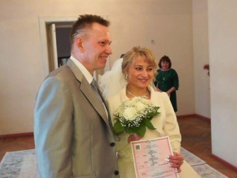 Красивая зимняя свадьба в СуздалеБориса и Марины