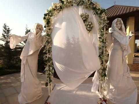 Наталья и Денис.Прогулка.Свадьба в Евпатории