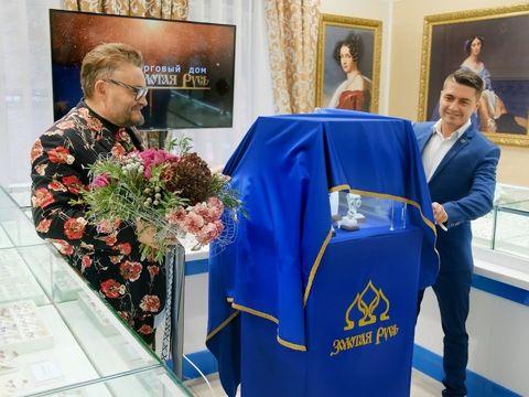 Презентация ювелирной коллекции Александра Васильева в Хабаровске.