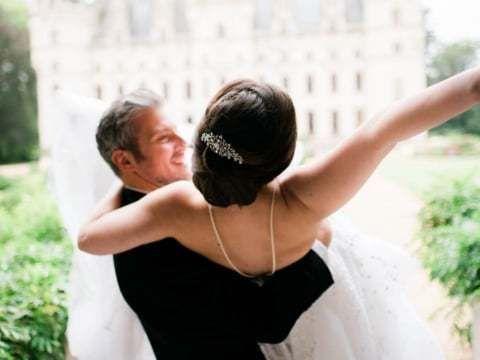 Cвадебная видеосъемка во Франции: Jennine & Marc // Chateau Challain