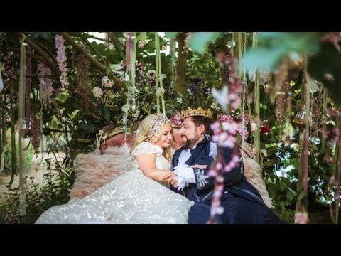 Роскошная свадьба в замке: Анна и Леви