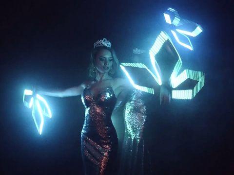 Световое шоу Crystal в Ростове | GOF шоу