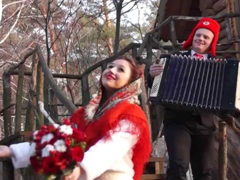 Зимняя свадьба Андрея и Ксении