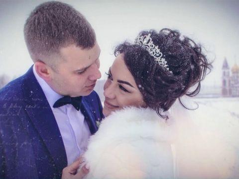 Свадьба зимой В Красноярске
