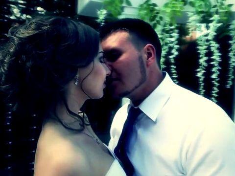 Манекен челлендж на свадьбе