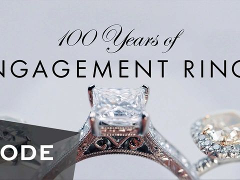 100 Years of Engagement Rings