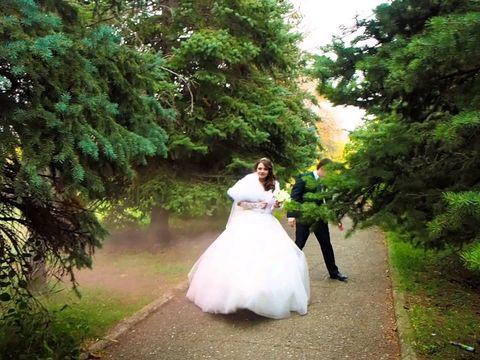 Дымовая шашка на свадьбе. Оренбург.