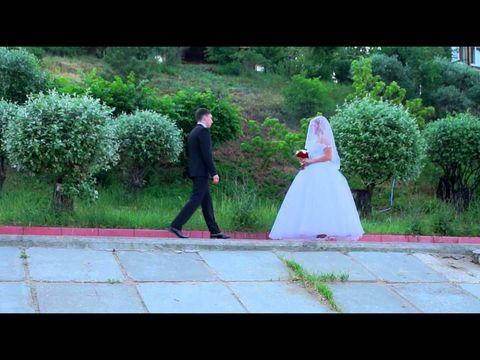 Свадебный клип. Видео свадьбы с применением вертолёта.