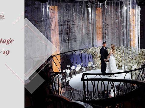 Backstage со свадьбы Виктории и Игната