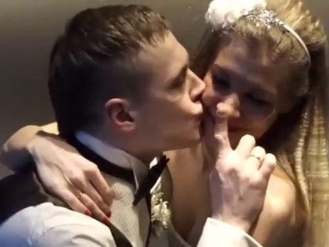 Зимняя сказка или свадьба с запахом мандаринов.