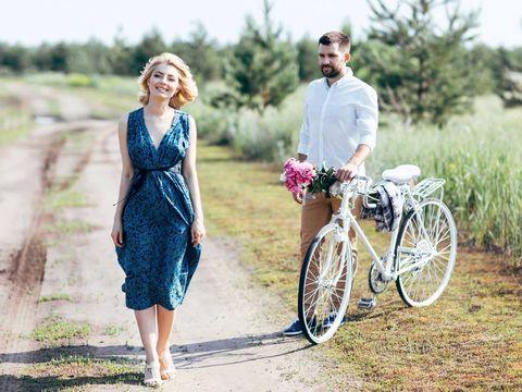 Прогулка Алины и Сергея