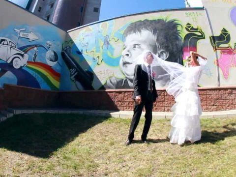 свадьба Ромы и Кати, наша работа, автор Полина Безматерных