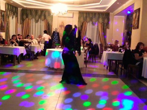 Восточный танец с саблей