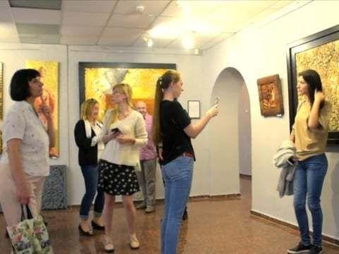 Выставка: Виктора Горяева.  Videograph : Sergey Ivankin