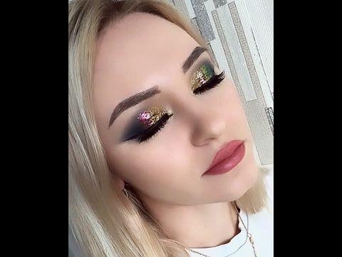 Ксения Саватеева Урок вечернего макияжа на новогодний корпоратив