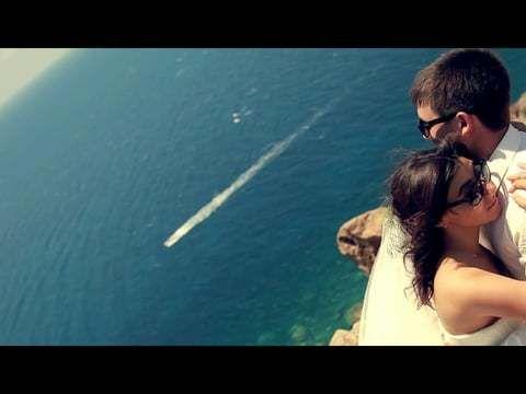 Свадьба Степана и Анны на острове Санторини
