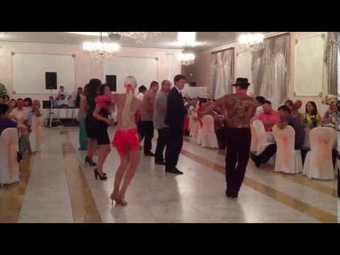 Веселый мастер-класс на свадьбе